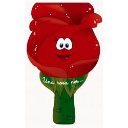 Conte Una rosa per... (lletra lligada)