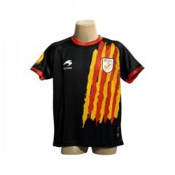 Equipatge oficial infantil de la selecció catalana Astore NEGRE
