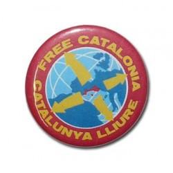 Xapa Free Catalonia - Catalunya Lliure