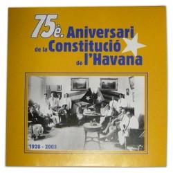 CD 75è aniversari de la Constitució de L'Havana
