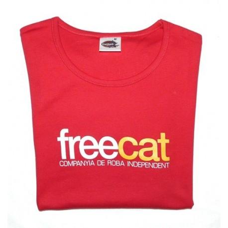 Samarreta de xiqueta Free Cat - Companyia de roba independent