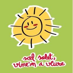 Samarreta tirants Sol, solet infantil