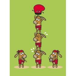 Samarreta tirants Castellers burrets infantil