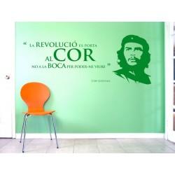 Vinil decoratiu per a paret Che Guevara