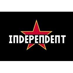 Jaqueta xandall negra Independent