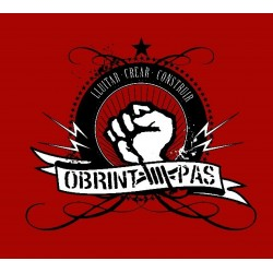 "Samarreta Obrint Pas ""puny roig"""