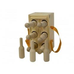 Joc de bitlles infantil amb caixa