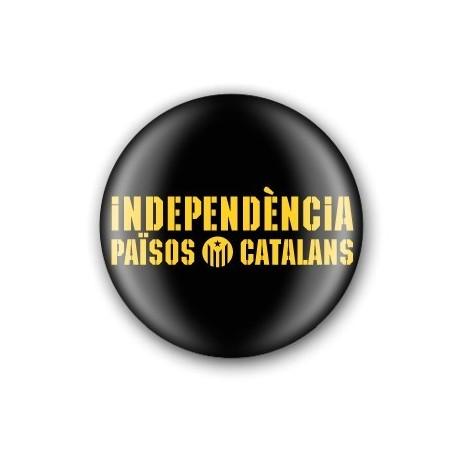 Xapa Independència Països Catalans