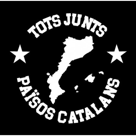 Adhesiu plàstic Tots junts Països Catalans