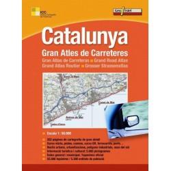 Llibre Catalunya. Gran Atles de Carreteres