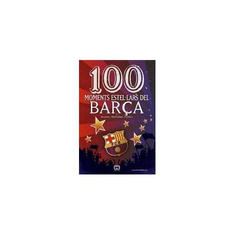 Llibre 100 Moments estel·lars del Barça