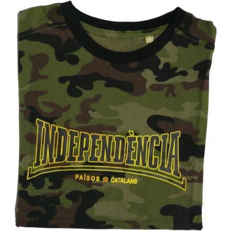 Samarreta Independència camuflatge