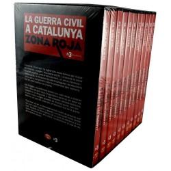 DVD La Guerra Civil a Catalunya. Zona Roja