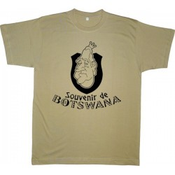 Samarreta Souvenir de Botswana