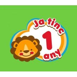 Samarreta Ja tinc 1 any