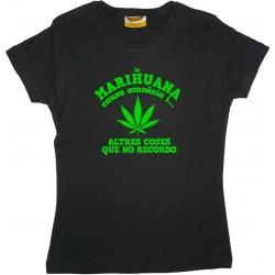 Samarreta noia Marihuana amnèsia
