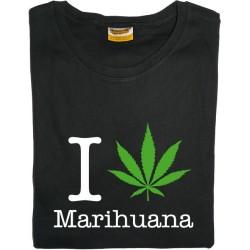 Samarreta noia I love Marihuana