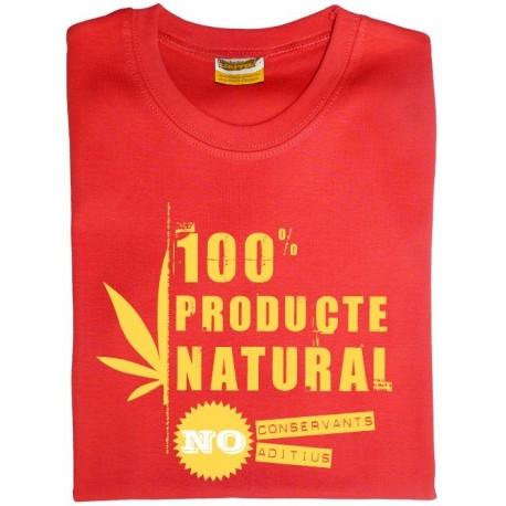 Samarreta noia 100% producte natural