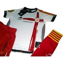 Equipatge oficial infantil de la selecció catalana Astore BLANC