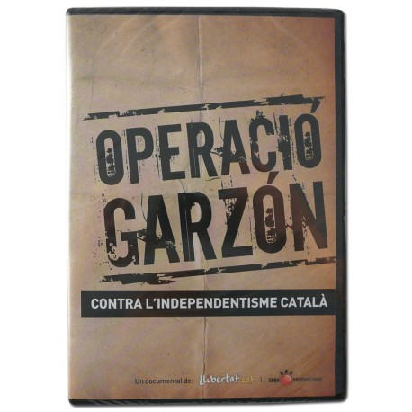 DVD L'Operació Garzón contra l'independentisme català