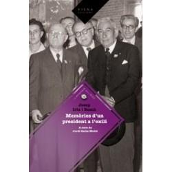 Llibre Memòries d'un president a l'exili