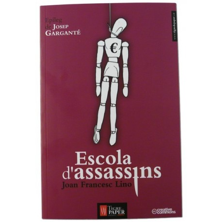 Llibre Escola d'assassins