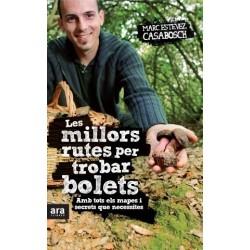 Llibre Les millors rutes per trobar bolets