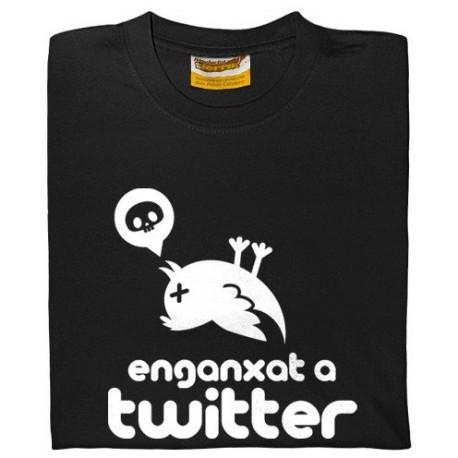 Samarreta Enganxat a Twitter