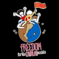 Samarreta Freedom for the catalan countries
