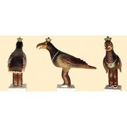 Figura de goma reproducció de l'Àguila de Vilafranca