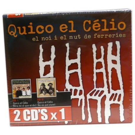 CD Quico el célio el noi i el mut de Ferreries Pack 2x1