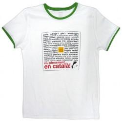 Samarreta noia bicolor Viu plenament en català