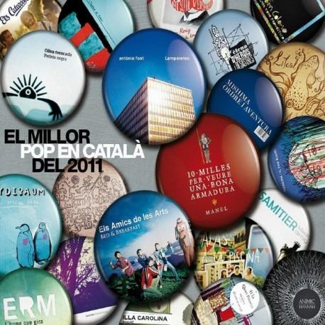 CD El millor Pop en català del 2011