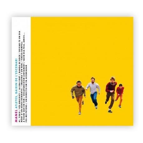CD dels Manel Atletes, baixin de l'escenari