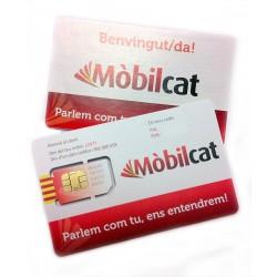 SIM nova de Mòbilcat, amb 10€ de saldo