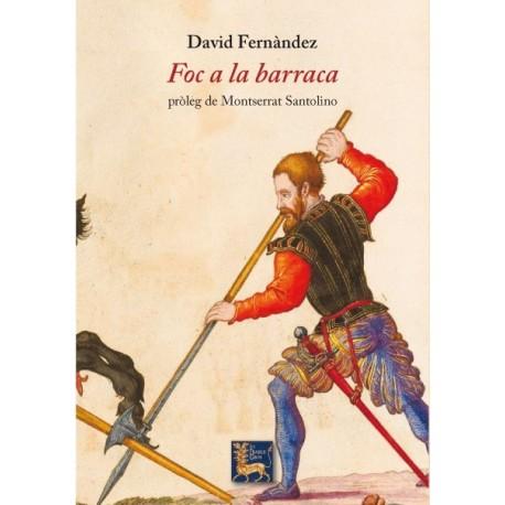 Llibre Foc a la barraca, de David Fernández