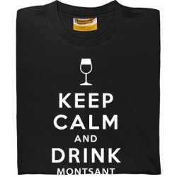 Samarreta Keep calm and drink montsant wine