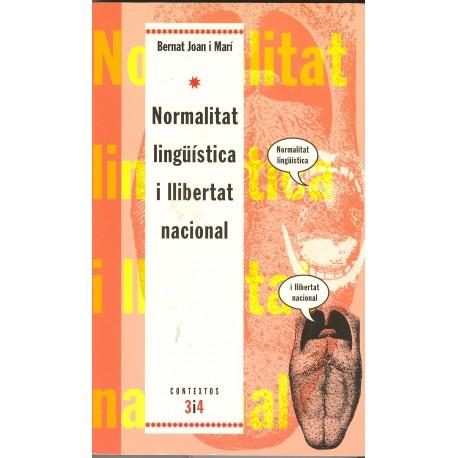 Llibre Normalitat lingüística i llibertat nacional