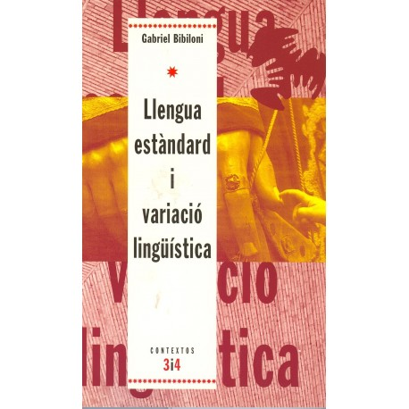 Llibre Llengua estàndard i variació lingüística