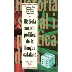 Llibre Història social i política de la llengua catalana