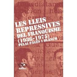 Llibre Les lleis repressives del franquisme (1936-1975)