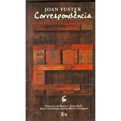 Llibre Correspondència Joan Fuster 5: FRANCESC DE BORJA I AINA MOLL, JOAN COROMINES, JOSEP MARIA LLOMPART