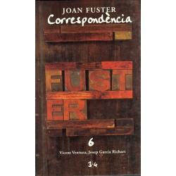 Llibre Correspondència Joan Fuster 6: VICENT VENTURA, JOSEP GARCIA RICHART