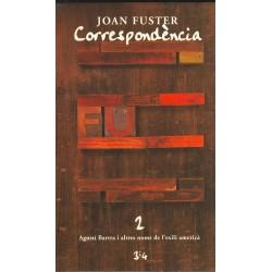 Llibre Correspondència Joan Fuster 10: XAVIER CASP, MIQUEL ADLERT, SANTIAGO BRU I VIDAL, 2ª PART