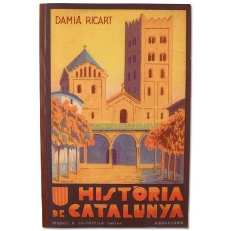 Llibre Història de Catalunya Damià Ricart