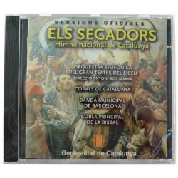 CD Els Segadors. Himne nacional de Catalunya