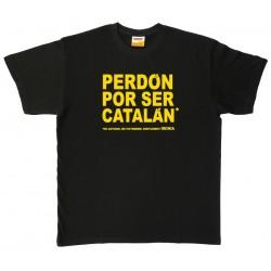Samarreta Perdón por ser catalán