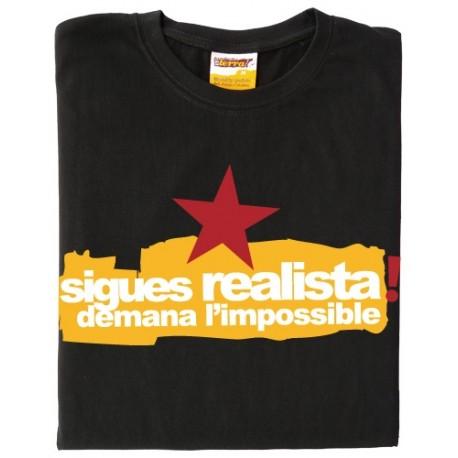 Samarreta Sigues realista estrella demana l'impossible