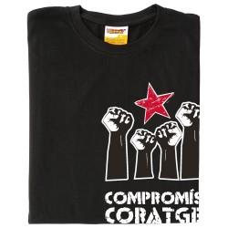 Samarreta Compromís i coratge