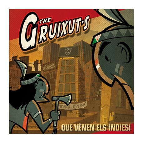 CD The Gruixut's Que vénen els indies!